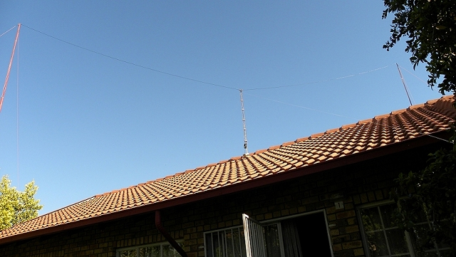 11 m Band Extended Double Zeppelin 'Zepp' (EDZ) antenna centred at 27.500 MHz